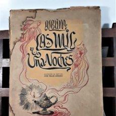 Coleccionismo Álbumes: ÁLBUM DE CROMOS. LAS MIL Y UNA NOCHES. INCOMPLETO. EDIC. ESPAÑA. SIGLO XX.. Lote 163043562