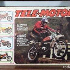 Coleccionismo Álbumes: ÁLBUM DE CROMOS. TELE-MOTOR. INCOMPLETO. EDIC. ESTE. SIGLO XX.. Lote 163051210