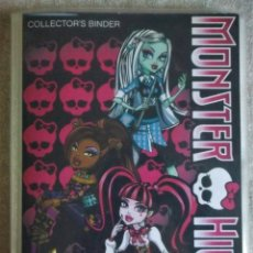 Coleccionismo Álbumes: ÁLBUM DE POSTALES MONSTER HIGH 2011 DE PANINI COLLECTOR'S BINDER 108 PHOTOCARDS. Lote 163697906