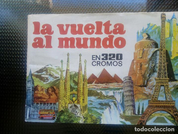 LA VUELTA AL MUNDO DE BRUGUERA 1971 ( A-4) (Coleccionismo - Cromos y Álbumes - Álbumes Incompletos)