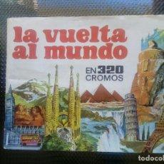 Coleccionismo Álbumes: LA VUELTA AL MUNDO DE BRUGUERA 1971 ( A-4). Lote 164610282
