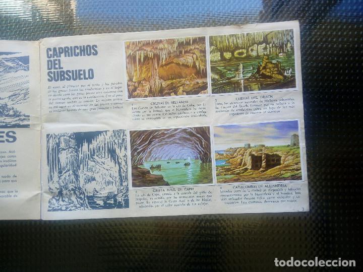Coleccionismo Álbumes: LA VUELTA AL MUNDO DE BRUGUERA 1971 ( A-4) - Foto 2 - 164610282