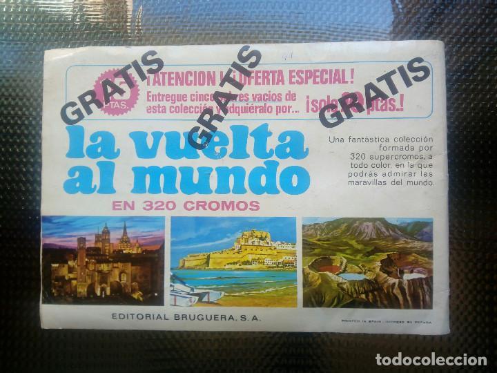 Coleccionismo Álbumes: LA VUELTA AL MUNDO DE BRUGUERA 1971 ( A-4) - Foto 5 - 164610282
