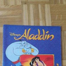 Coleccionismo Álbumes: ALBUM CROMOS ALADDIN - DISNEY - VER FOTOS ADICIONALES. Lote 164684118
