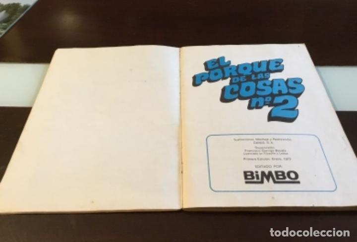 Coleccionismo Álbumes: Álbum el porqué de las cosas número 2 Bimbo - Foto 2 - 164886338
