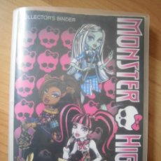 Coleccionismo Álbumes: ÁLBUM VACÍO PHOTOCARDS MONSTER HIGH 2011 PANINI. Lote 164903586