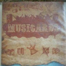 Coleccionismo Álbumes: ÁLBUM PANINI MUSICARDS CON 135 DE LOS 160. Lote 164913597