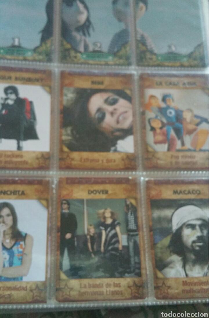Coleccionismo Álbumes: Álbum panini Musicards con 135 de los 160 - Foto 2 - 164913597