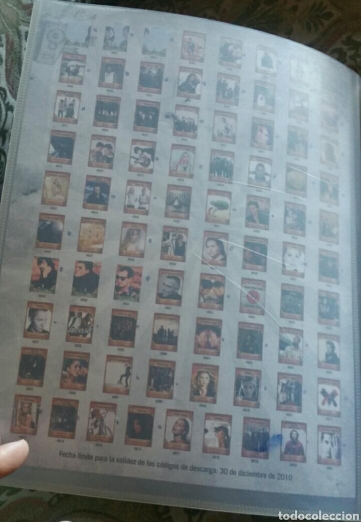 Coleccionismo Álbumes: Álbum panini Musicards con 135 de los 160 - Foto 3 - 164913597