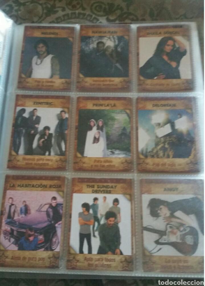 Coleccionismo Álbumes: Álbum panini Musicards con 135 de los 160 - Foto 4 - 164913597