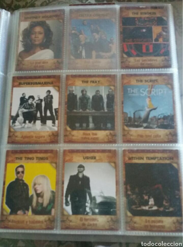 Coleccionismo Álbumes: Álbum panini Musicards con 135 de los 160 - Foto 5 - 164913597