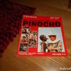 Coleccionismo Álbumes: ALBUM DE CROMOS - LAS AVENTURAS DE PINOCHO - ALBUM VACIO - VULCANO. Lote 165109642