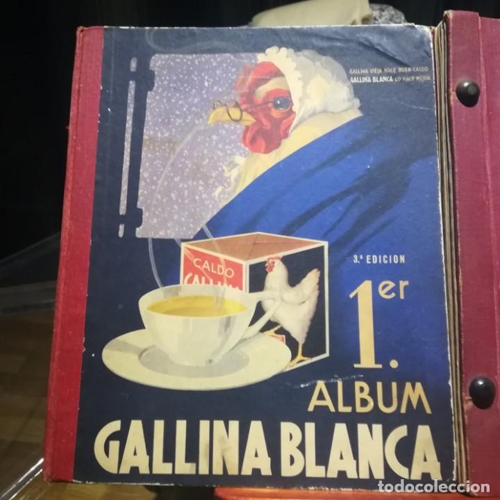 Coleccionismo Álbumes: GALLINA BLANCA- 2 ALBUMS- Nº 1 COMPLETO ,Nº 2 A FALTA DE 9 CROMOS-MUY BUEN ESTADO-VER FOTOS - Foto 2 - 165119974