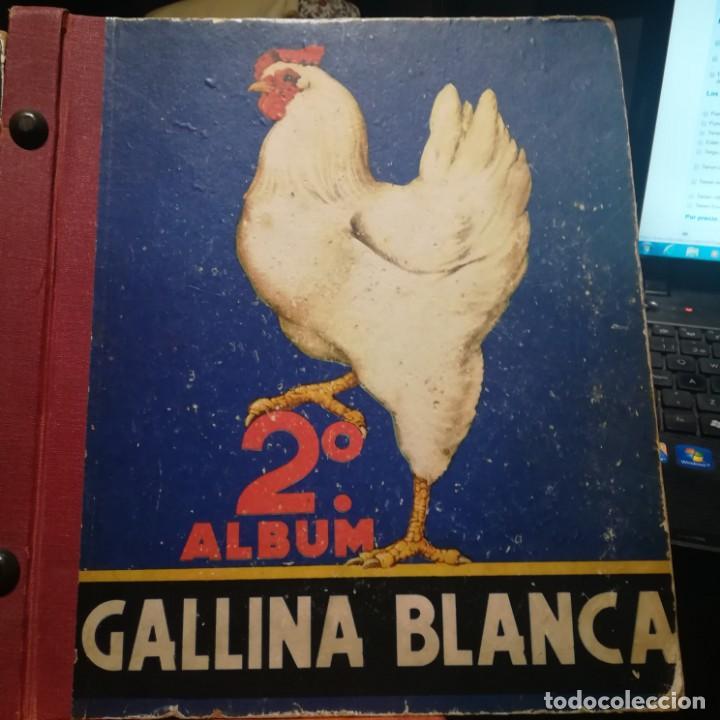 Coleccionismo Álbumes: GALLINA BLANCA- 2 ALBUMS- Nº 1 COMPLETO ,Nº 2 A FALTA DE 9 CROMOS-MUY BUEN ESTADO-VER FOTOS - Foto 3 - 165119974