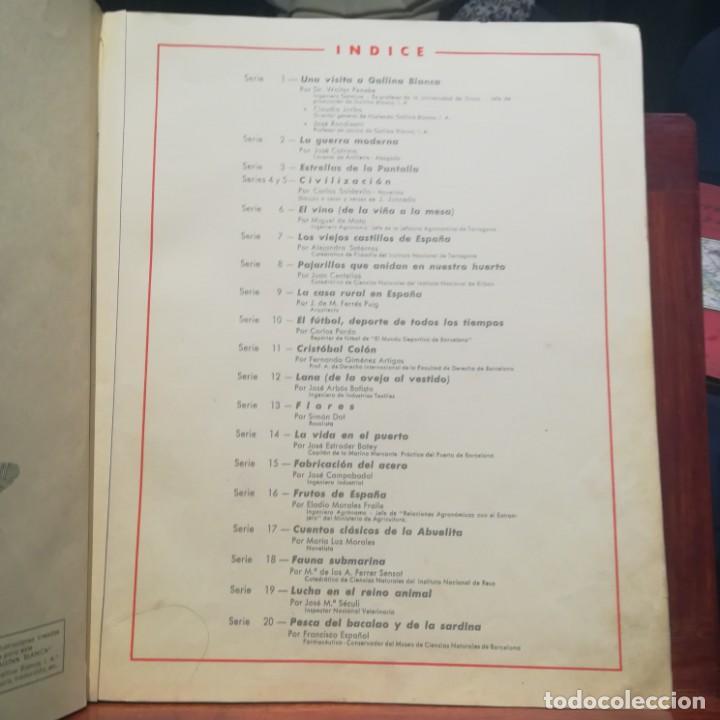 Coleccionismo Álbumes: GALLINA BLANCA- 2 ALBUMS- Nº 1 COMPLETO ,Nº 2 A FALTA DE 9 CROMOS-MUY BUEN ESTADO-VER FOTOS - Foto 14 - 165119974