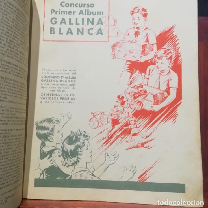 Coleccionismo Álbumes: GALLINA BLANCA- 2 ALBUMS- Nº 1 COMPLETO ,Nº 2 A FALTA DE 9 CROMOS-MUY BUEN ESTADO-VER FOTOS - Foto 15 - 165119974