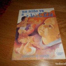 Coleccionismo Álbumes: ALBUM DE CROMOS UN NIÑO VA A NACER NO COMPLETO CON 17 CROMOS CANO VER FOTOS ADICIONALES. Lote 165307406