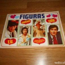 Coleccionismo Álbumes: ÁLBUM DE OBSEQUIO. FIGURAS. INCOMPLETO. EDICIONES ESTE. 1975. VACIO PLANCHA PERFECTO. Lote 165313930