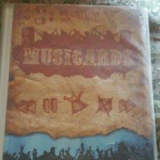Coleccionismo Álbumes: ÁLBUM MUSICARDS VACÍO PARA COLECCIONAR. Lote 165581896
