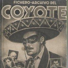 Coleccionismo Álbumes: FICHERO ARCHICO DEL COYOTE - FALTA EL CROMO 218. Lote 165847326