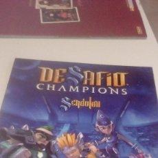 Coleccionismo Álbumes: G-GE45SA ALBUM PANINI DESAFIO CHAMPIONS SENDOKAI VER FOTOS PARA ESTADO Y CROMOS PEGADOS . Lote 165876842