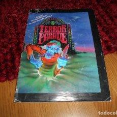 Coleccionismo Álbumes: TERROR PARADE INCOMPLETO FALTAN 9 CROMOS. J. MERCHANTE 1991. MUY BUEN ESTADO Y RARO.. Lote 166059494