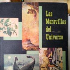 Coleccionismo Álbumes: ALBUM CROMOS NESTLE. LAS MARAVILLAS DEL UNIVERSO.. Lote 166245174