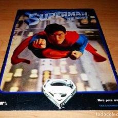 Coleccionismo Álbumes: ÁLBUM DE CROMOS SUPERMAN THE MOVIE - EDITORIAL FHER 1978 - FOTOS DE TODAS LAS PAGINAS - BOX36. Lote 166328118