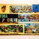 Coleccionismo Álbumes: VIDA Y COLOR 2 EDICIONES 2 ÁLBUMES AÑO 65- 68 ESPAÑOLES. S.A. BARCELONA. Lote 166415750