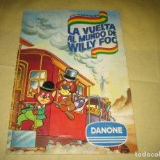 Coleccionismo Álbumes: WILLY FOG - ALBUM FALTAN 7 CROMOS . Lote 166718330