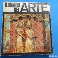 Coleccionismo Álbumes: ÁLBUM EL MUNDO DEL ARTE. DIFUSORA DE CULTURA. VALENCIA. INCOMPLETO. SI NO ME HE EQUIVOCADO AL COMPRO. Lote 166737934