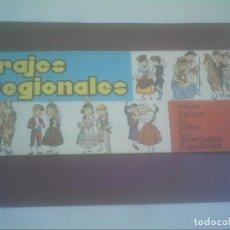 Coleccionismo Álbumes: TRAJES REGIONALES CHURRUCA 1969 . Lote 166815406