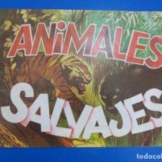 Coleccionismo Álbumes: ALBUM VACIO DE ANIMALES SALVAJES AÑO 1982 DE DIDEC. Lote 166851534