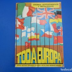 Coleccionismo Álbumes: ALBUM VACIO DE TODA EUROPA AÑO 1975 DE DIDEC. Lote 166851918