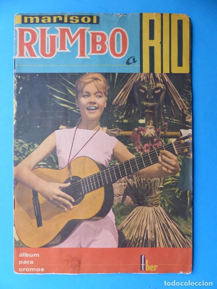 ALBUM CROMOS RUMBO A RIO, MARISOL - LE FALTAN 43 CROMOS - ED. FHER - VER DESCRIPCION Y FOTOS (Coleccionismo - Cromos y Álbumes - Álbumes Incompletos)