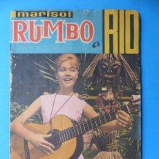Coleccionismo Álbumes: ALBUM CROMOS RUMBO A RIO, MARISOL - LE FALTAN 43 CROMOS - ED. FHER - VER DESCRIPCION Y FOTOS. Lote 166862464
