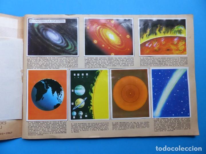 Coleccionismo Álbumes: ALBUM CROMOS LA NATURALEZA Y EL HOMBRE - LE FALTAN 34 CROMOS - ED. MAGA - VER DESCRIPCION Y FOTOS - Foto 2 - 166864688