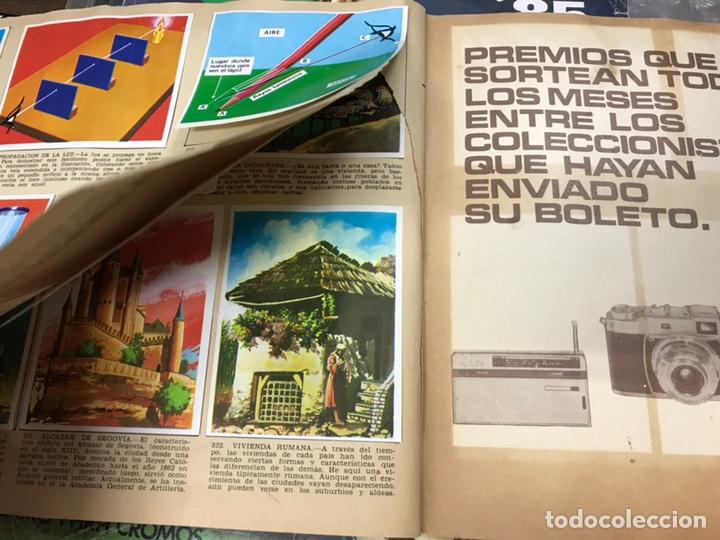 Coleccionismo Álbumes: ALBUM CROMOS LA NATURALEZA Y EL HOMBRE - LE FALTAN 34 CROMOS - ED. MAGA - VER DESCRIPCION Y FOTOS - Foto 12 - 166864688