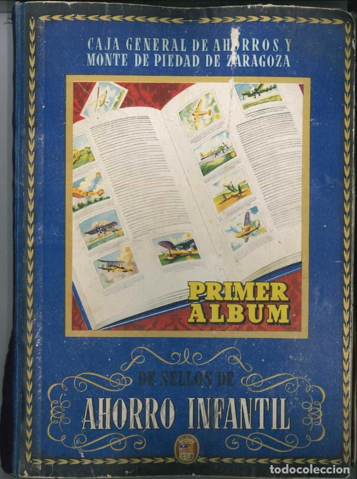 PRIMER ALBUM AHORRO INFANTIL COMPLETO , CAJA GENERAL DE AHORROS 1947 (Coleccionismo - Cromos y Álbumes - Álbumes Incompletos)