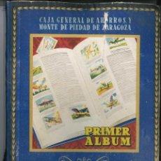 Coleccionismo Álbumes: PRIMER ALBUM AHORRO INFANTIL COMPLETO , CAJA GENERAL DE AHORROS 1947. Lote 166991984