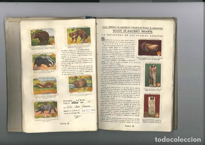 Coleccionismo Álbumes: PRIMER ALBUM AHORRO INFANTIL COMPLETO , CAJA GENERAL DE AHORROS 1947 - Foto 2 - 166991984