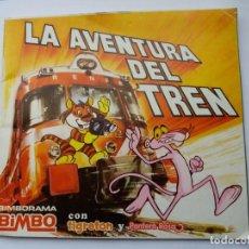 Coleccionismo Álbumes: LA AVENTURA DEL TREN. BIMBO. 1975. INCOMPLETO.. Lote 167011040