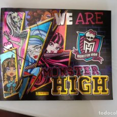 Coleccionismo Álbumes: ÁLBUM DE CROMOS WE ARE MONSTER HIGH - INCOMPLETO . Lote 167342860
