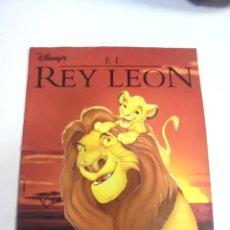 Coleccionismo Álbumes: ALBUM INCOMPLETO. EL REY LEON. DISNEY´S. PANINI. FALTAN 8 CROMOS. VER FOTOS.. Lote 167682116