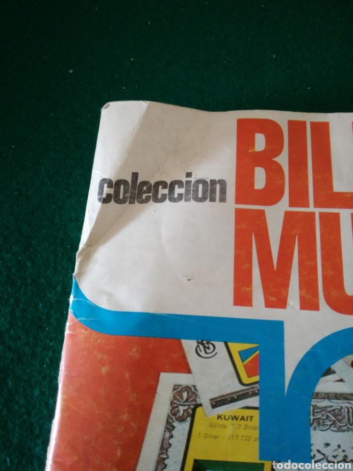 Coleccionismo Álbumes: ALBUN DE CROMOS BILLETES DEL MUNDO - Foto 2 - 167688930