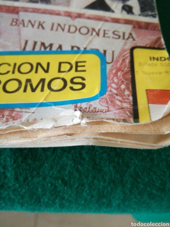 Coleccionismo Álbumes: ALBUN DE CROMOS BILLETES DEL MUNDO - Foto 3 - 167688930