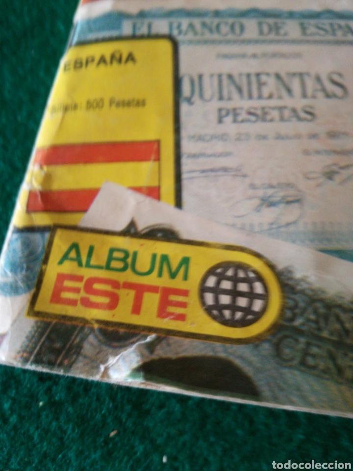 Coleccionismo Álbumes: ALBUN DE CROMOS BILLETES DEL MUNDO - Foto 4 - 167688930