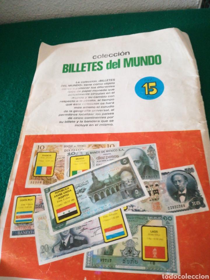 Coleccionismo Álbumes: ALBUN DE CROMOS BILLETES DEL MUNDO - Foto 9 - 167688930