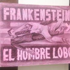 Coleccionismo Álbumes: ÁLBUM CROMOS MONSTRUOS FRANKENSTEIN Y EL HOMBRE LOBO FHER - FALTA UN CROMO. Lote 168009152