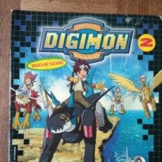 Coleccionismo Álbumes: DIGIMON, DIGITAL MONSTERS 2 DE PANINI - TIENE 135 CROMOS DE 192 -. Lote 168202288